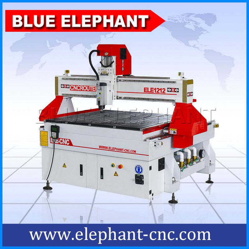 1212 3 Axis Cnc Router With Helical Rack And Gear Drive